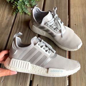adidas Shoes - Adidas NMD Light Gray Sneakers
